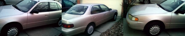 Farewell to My 1996 Toyota Camry