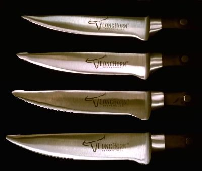 LongHorn Steak Knives