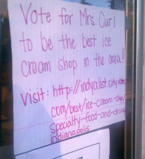 Mrs. Curl A-List Vote