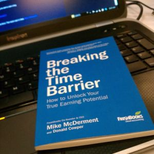 Breaking the Time Barrier by Mike McDerment