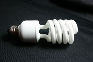 Compact Flourescent Light bulb (CFL)