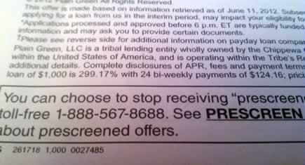 Crazy Short Term Loan Terms