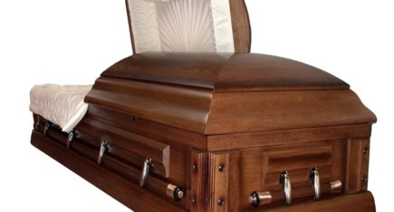 Near Death Open Casket
