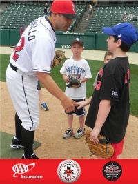 Ethan Meets Jason Jaramillo of the Indianapolis Indians