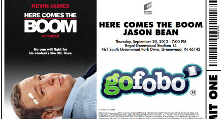 Here Comes the Boom - GoFobo Pass