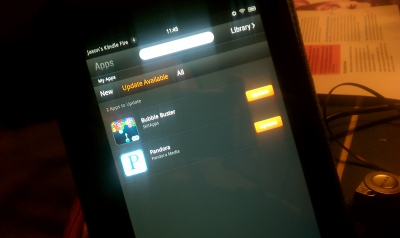 Kindle Fire Updates Available