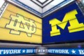 Michigan vs. Notre Dame – The Lights Are On in the Big House