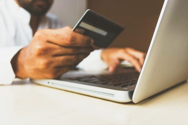 Laptop Credit Card - Online Shopping