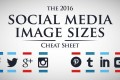 Social Media Image Sizes Cheat Sheet – Infographic